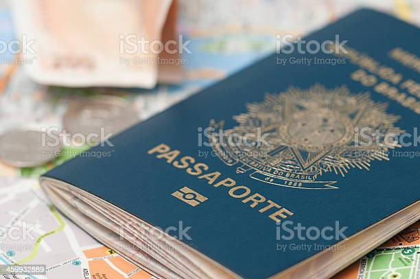 Brazilian passport on top of a map picture id459932889?b=1&k=6&m=459932889&s=612x612&h=lpw2m2zec1k z069n wznckr2malvdso15fovsa7ad0=