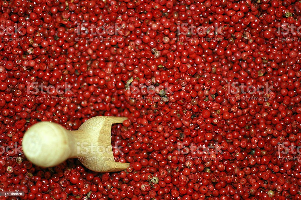 Brazilian pepper berries stock photo