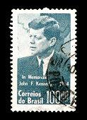 JFK's immortal words in stone at Arlington Cemetary.