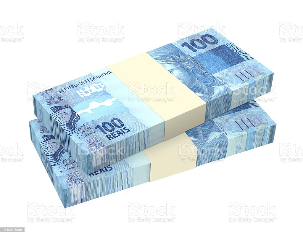 Brazilian reais isolated on white background stock photo 519824835 brazilian currency currency number 100 paper currency symbol biocorpaavc Image collections