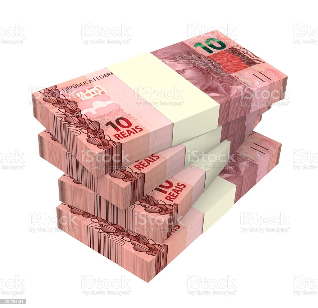 Brazilian reais isolated on white background stock photo more brazilian reais isolated on white background royalty free stock photo biocorpaavc Image collections