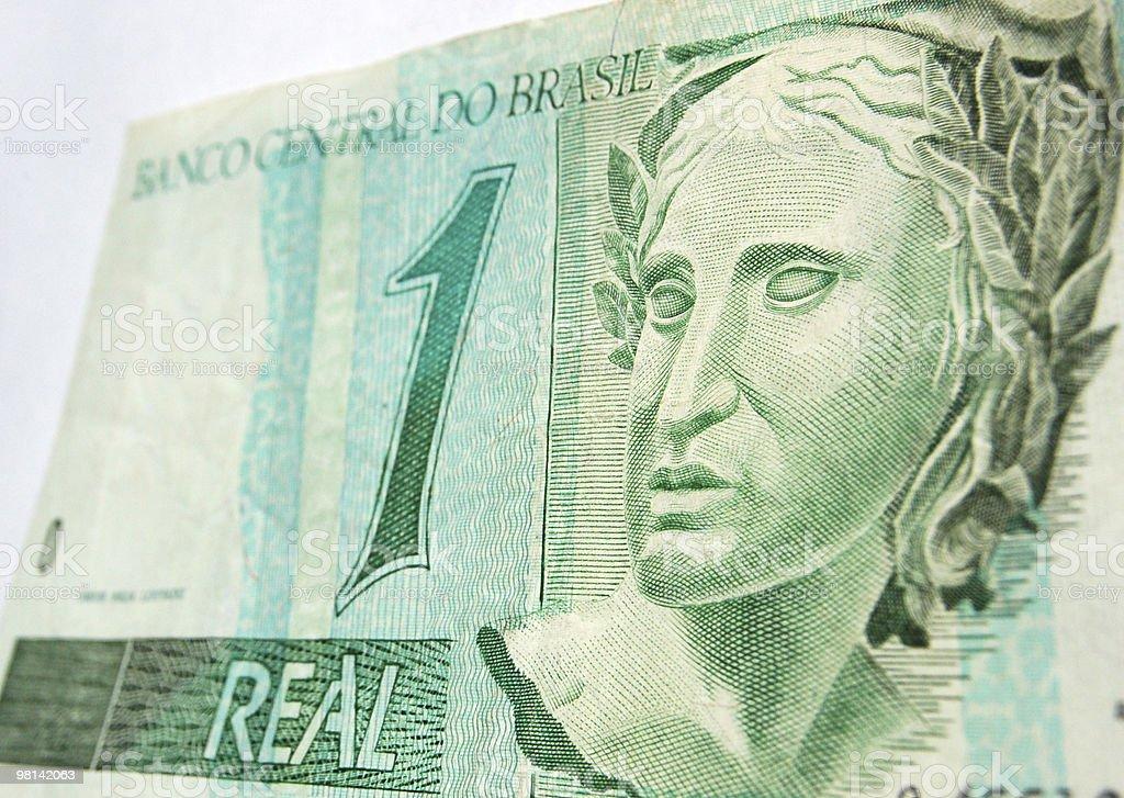 Brazilian Real royalty-free stock photo