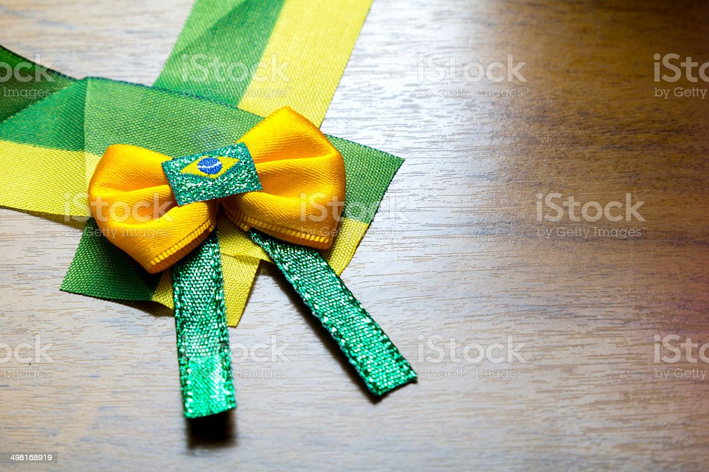 Brazilian ribbon stock photo