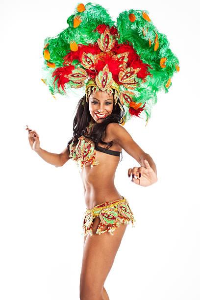 dançarina de samba brasileiro - samba imagens e fotografias de stock