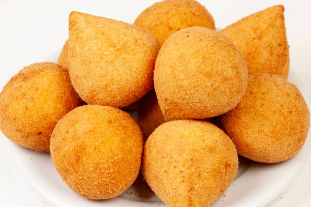 Brazilian Snacks, Coxinha Brazilian Snacks, Coxinha coxinha stock pictures, royalty-free photos & images