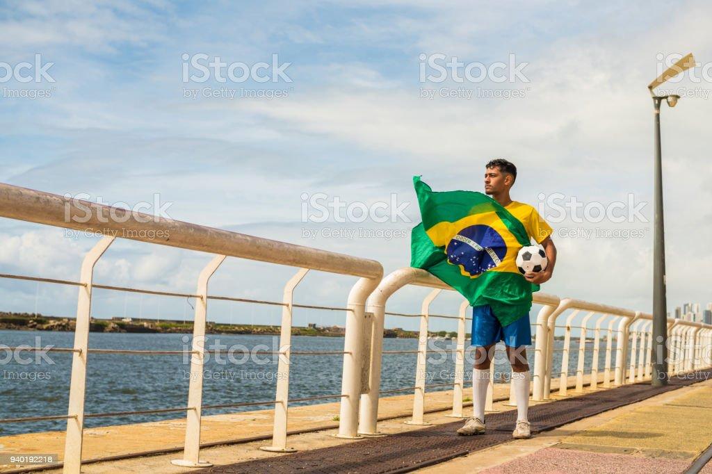 Futebol brasileiro - foto de acervo