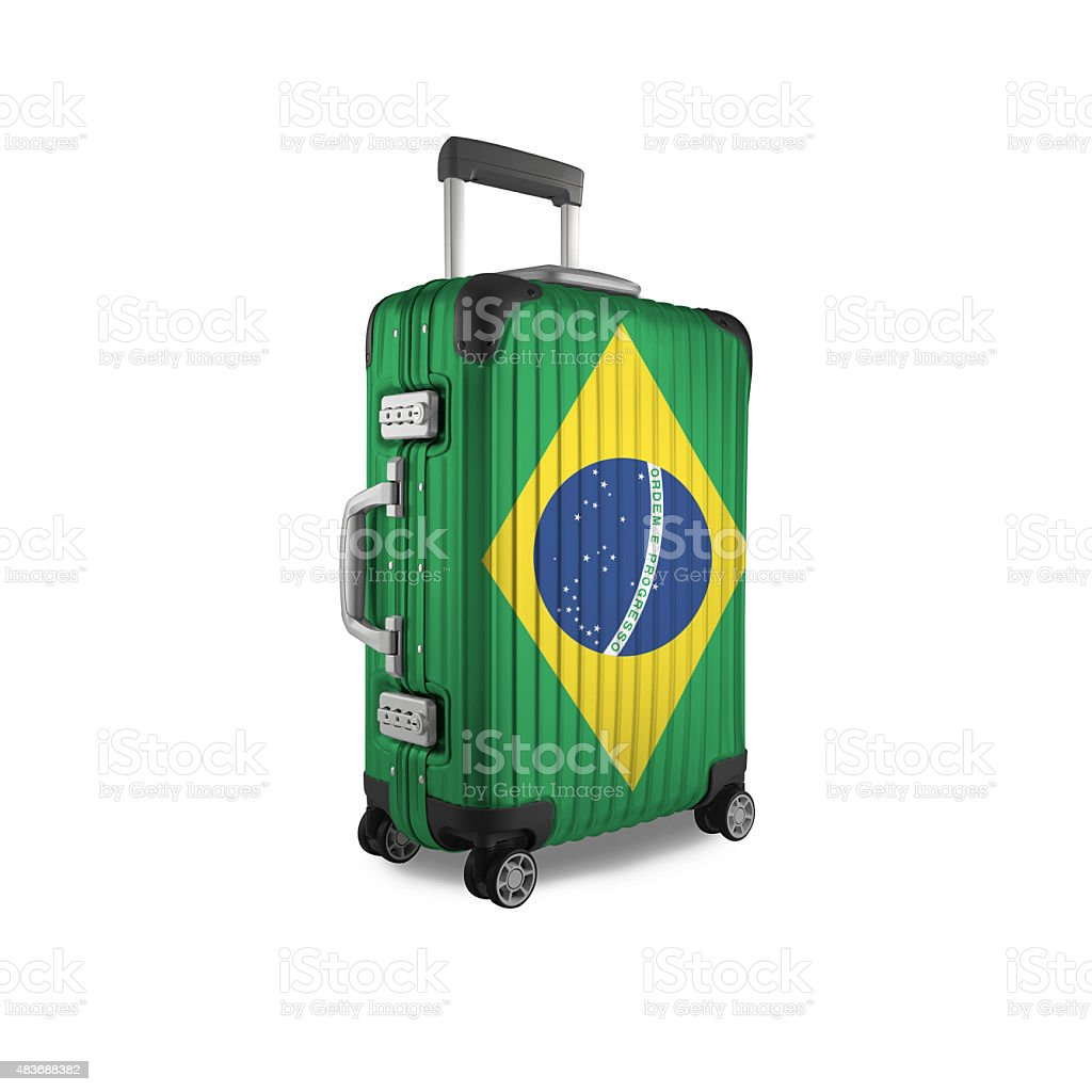 Brazilian Suitcase stock photo
