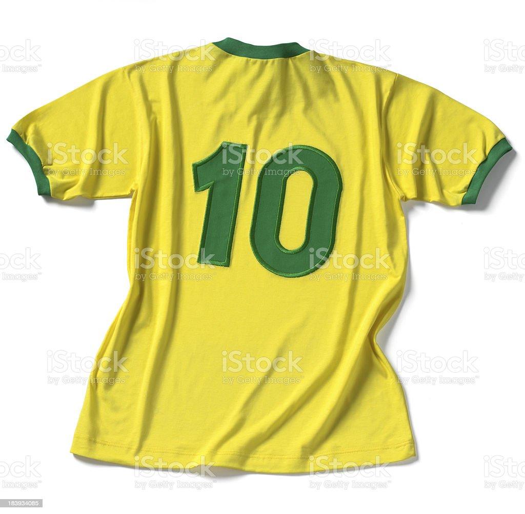 Brasileiro camisa de t - foto de acervo