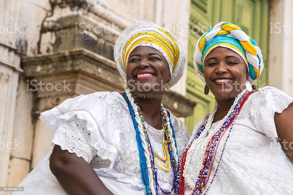 Brazilian woman of African descent, Bahia, Brazil stock photo
