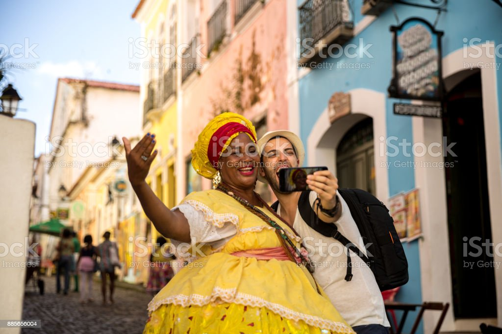 Mulher brasileira de ascendência africana, Bahia, Brasil - foto de acervo