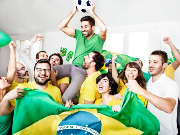 Adeptos brasileiro - foto de acervo