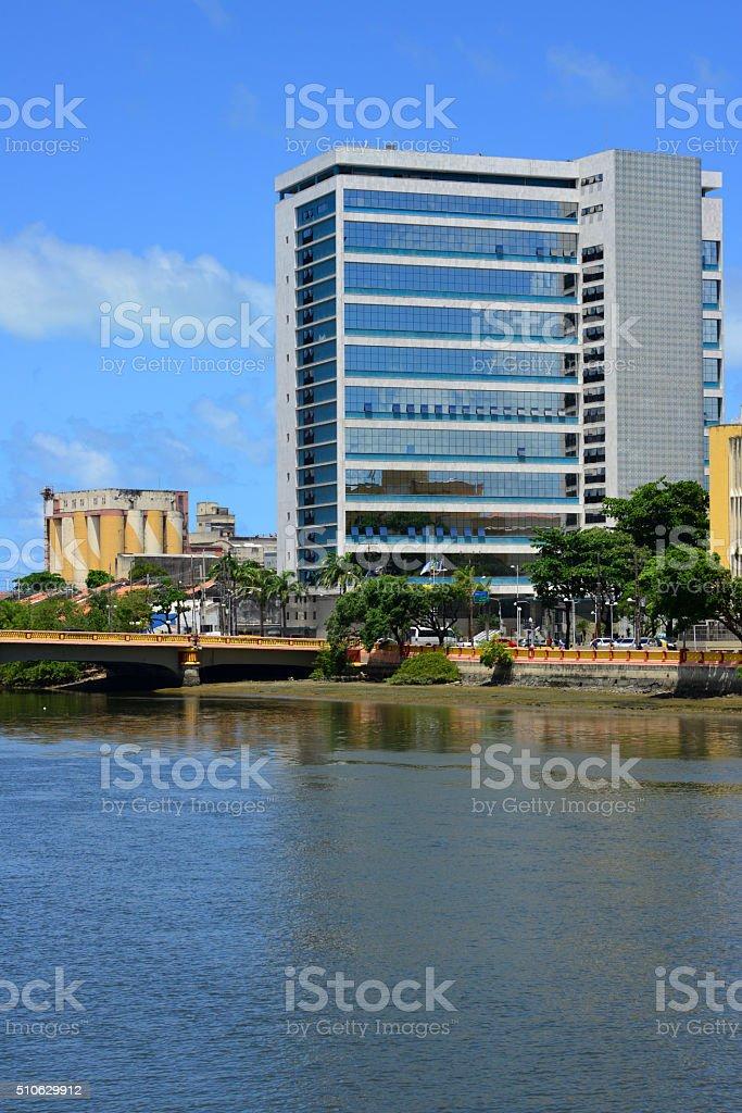 Edifício do Banco Central do Brasil em Recife, Pernambuco - foto de acervo
