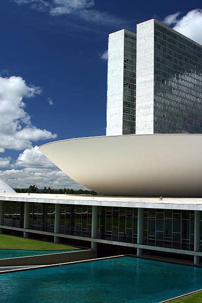 Do Brasil Congress Congresso Nacional de Brasília - foto de acervo