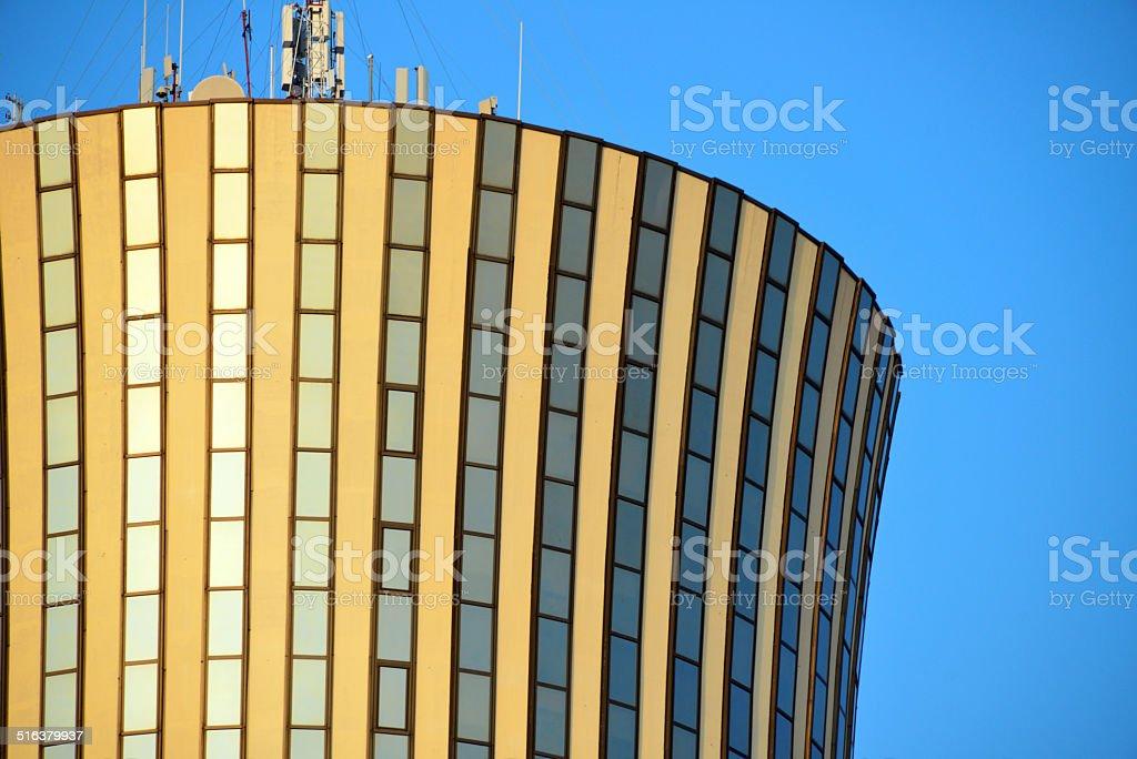 Brazzaville, Congo: Nabemba tower detail stock photo