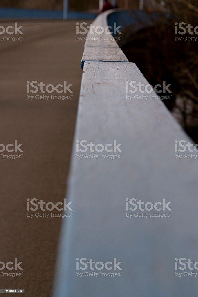 Brückengeländer stock photo