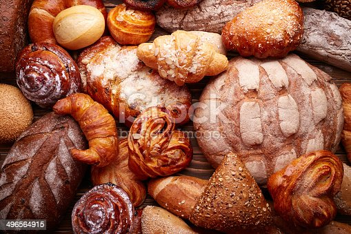 istock Bread and buns 496564915