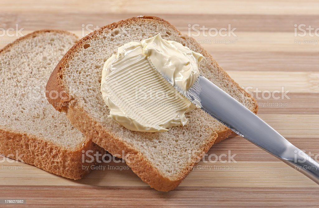 Bread And Butter royalty-free stock photo