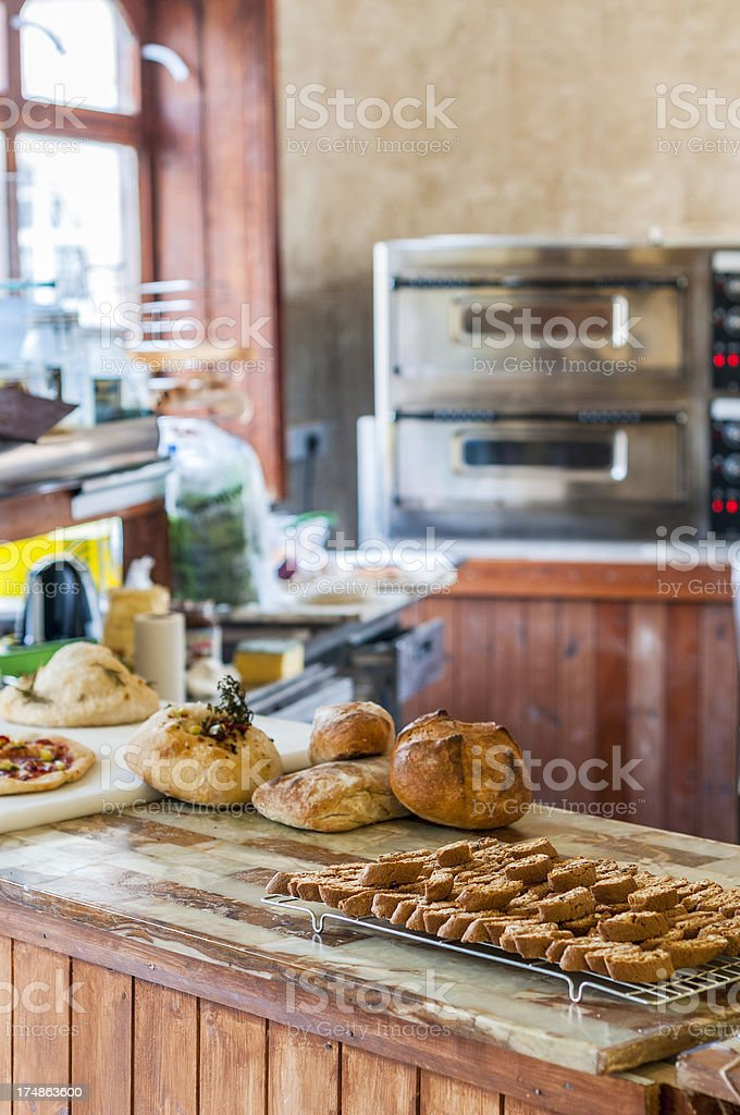 Bread And Cakes royalty-free stock photo