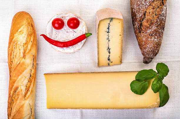 chleb i ser  - ser comte zdjęcia i obrazy z banku zdjęć