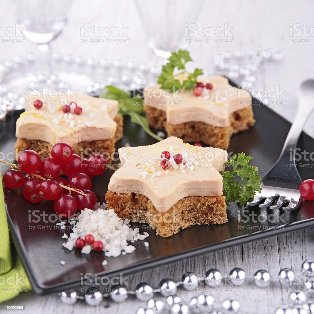 Pan y carne, canapé - Foto de stock de Alimento libre de derechos