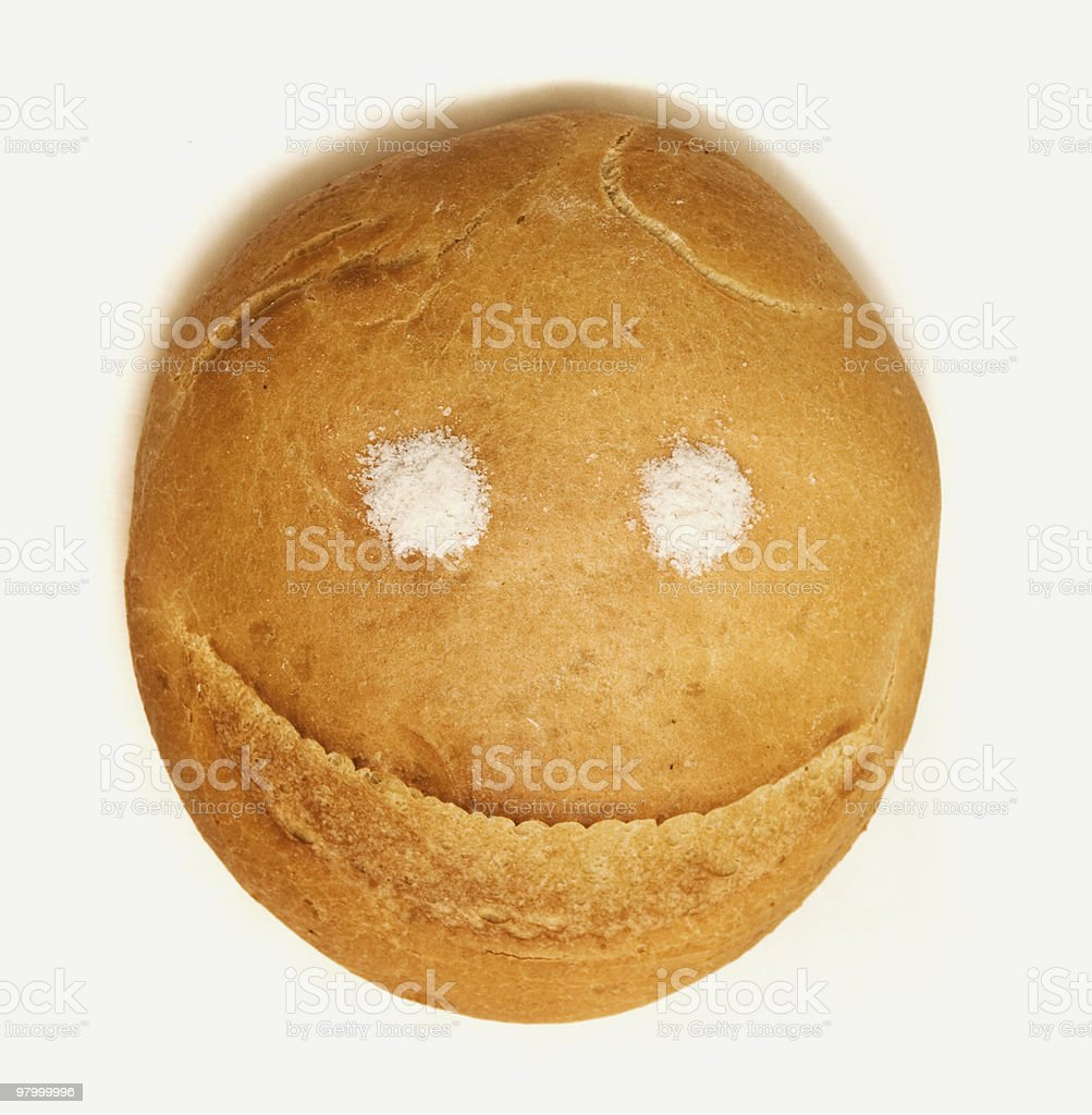 Bread and salt royalty-free stock photo