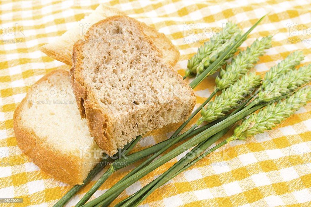 Pane e grano foto stock royalty-free