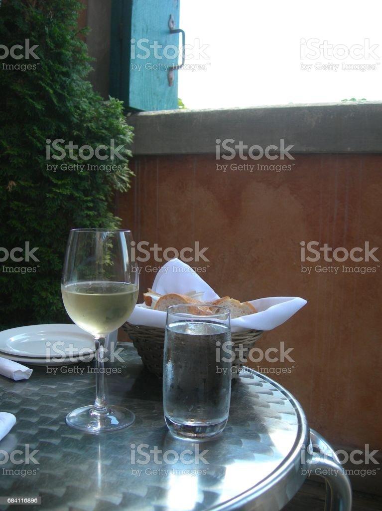 Bread and Wine zbiór zdjęć royalty-free