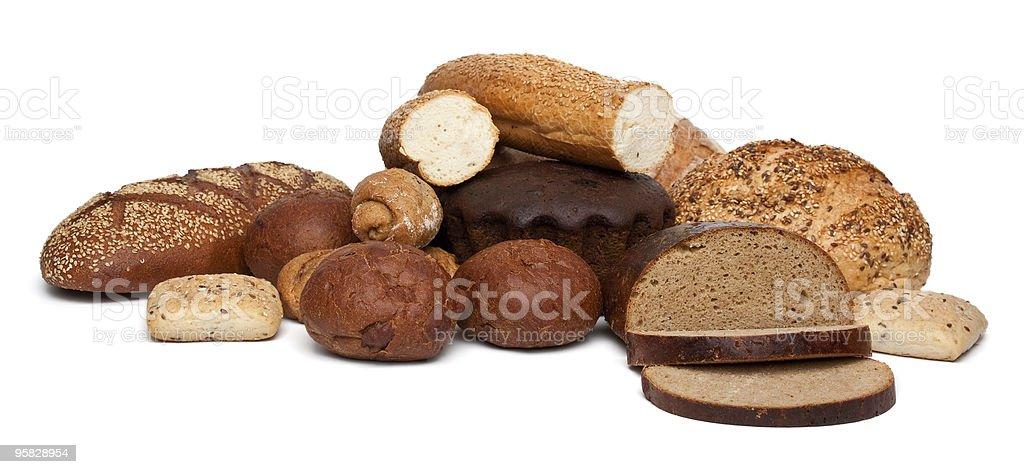 bread assortment royalty-free stock photo