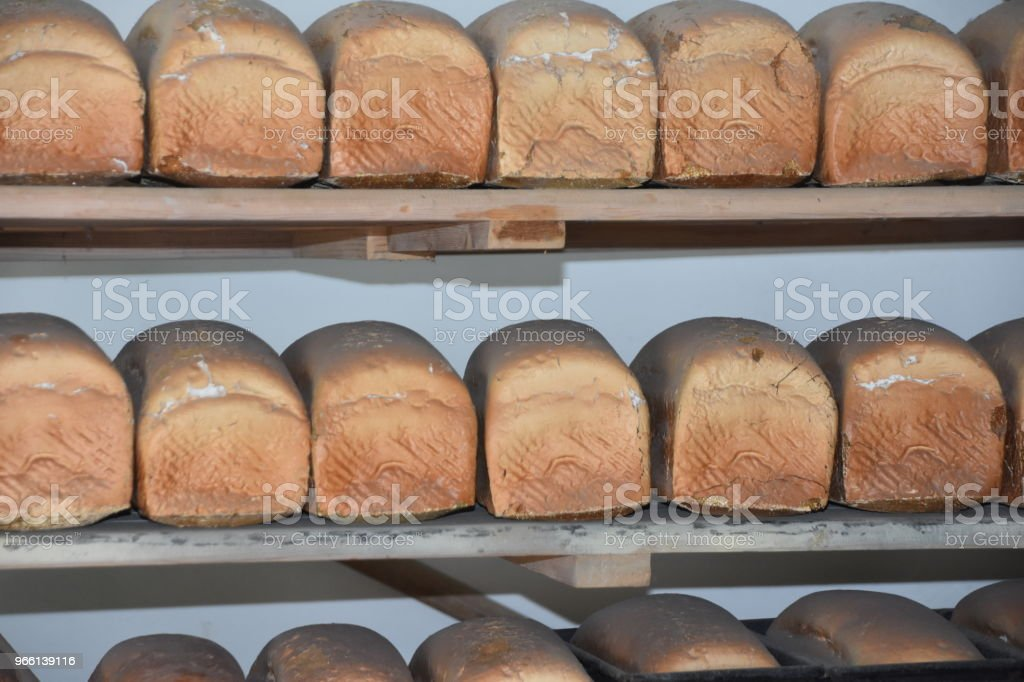 Bread Bäckerei - Lizenzfrei Backen Stock-Foto