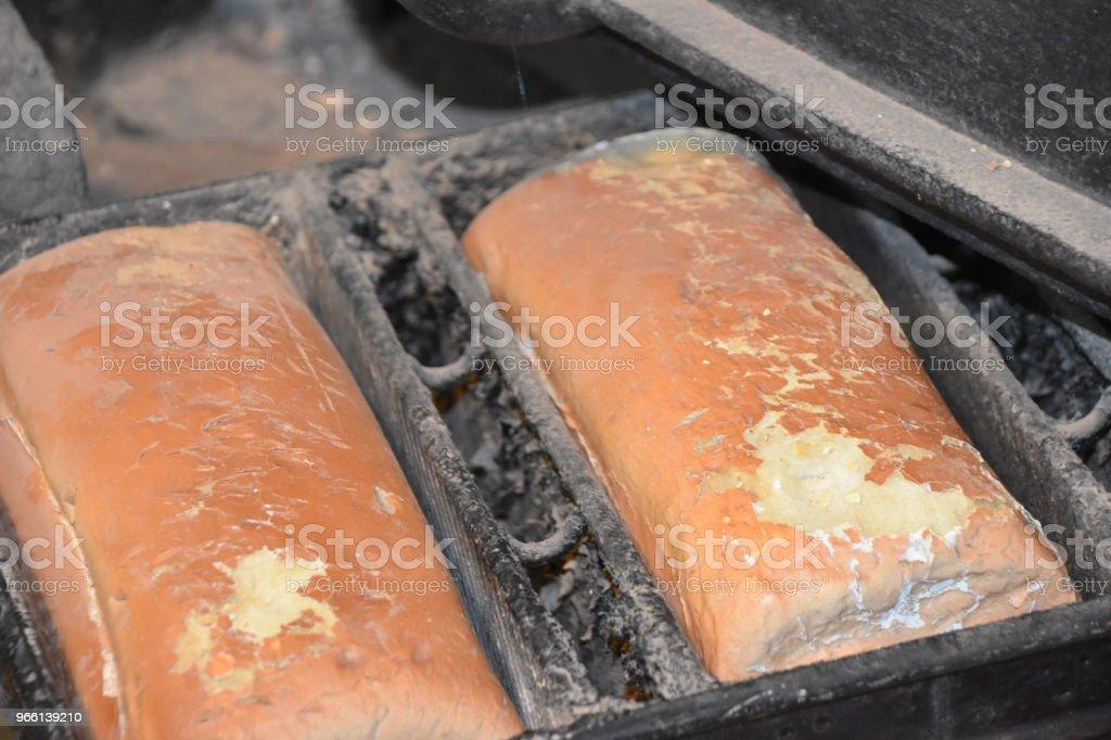 Bread Bakery - Стоковые фото Батон роялти-фри