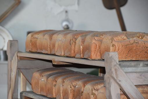 Bread Bakery — стоковые фотографии и другие картинки Батон