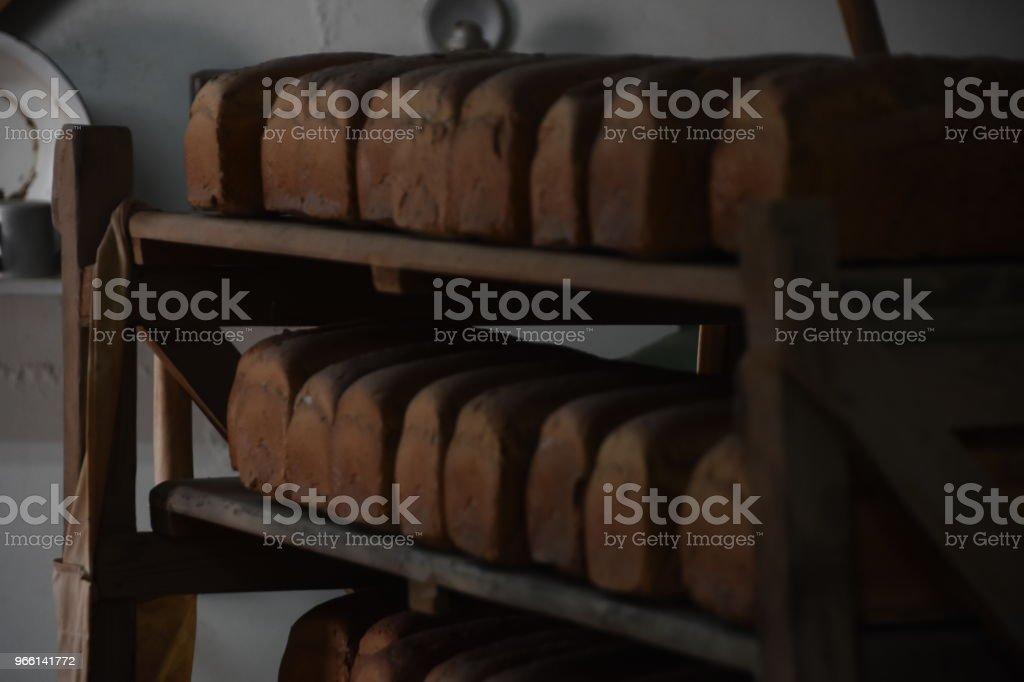 Bröd bageri - Royaltyfri Bageri Bildbanksbilder