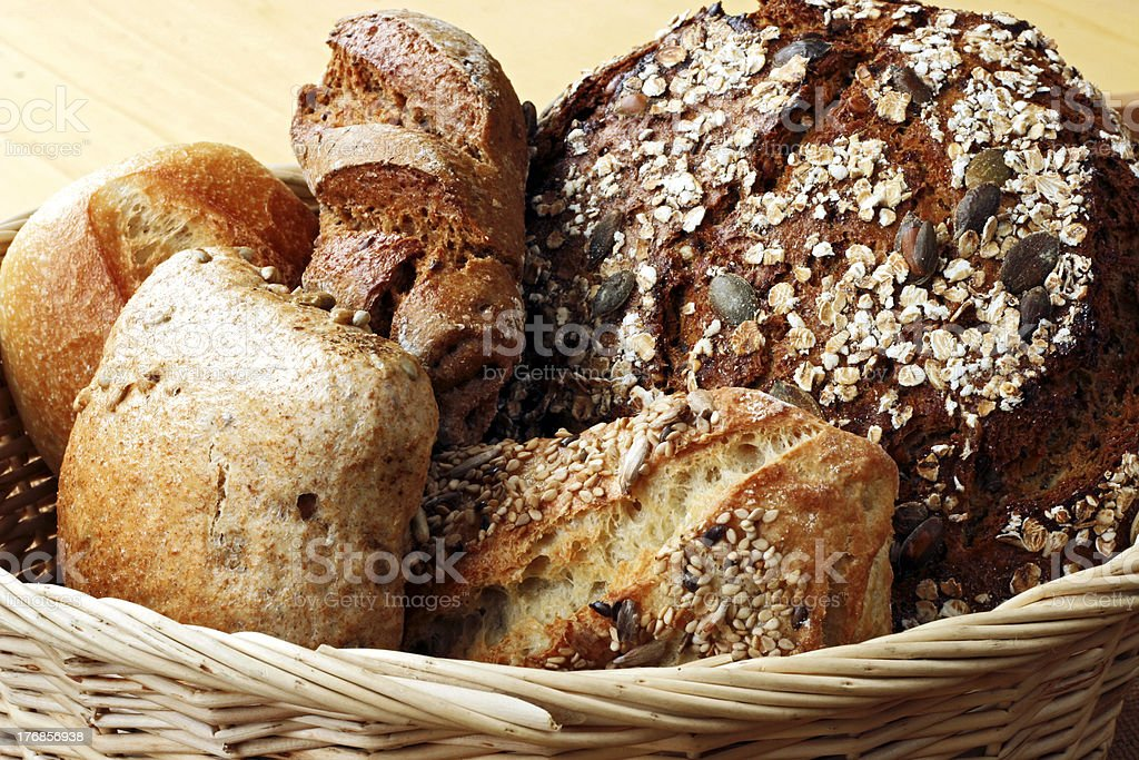 bread basket royalty-free stock photo