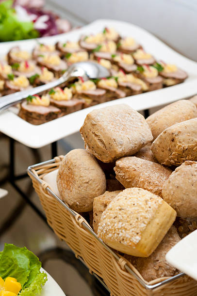 Bread - Catering stock photo
