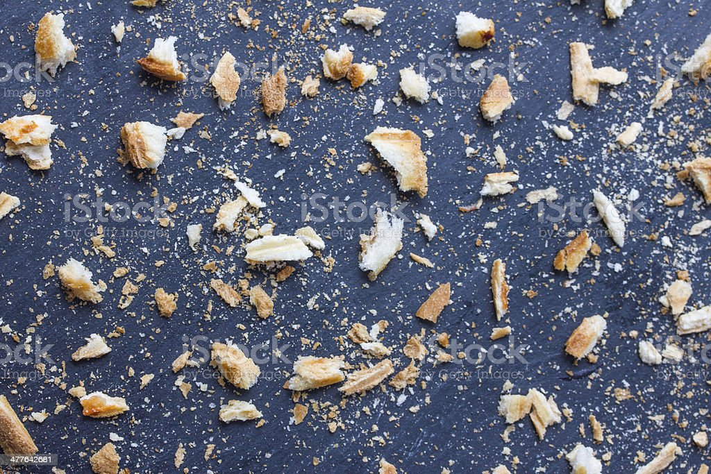 bread crumbs texture royalty-free stock photo