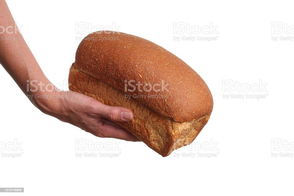 Bread donation royalty-free stock photo