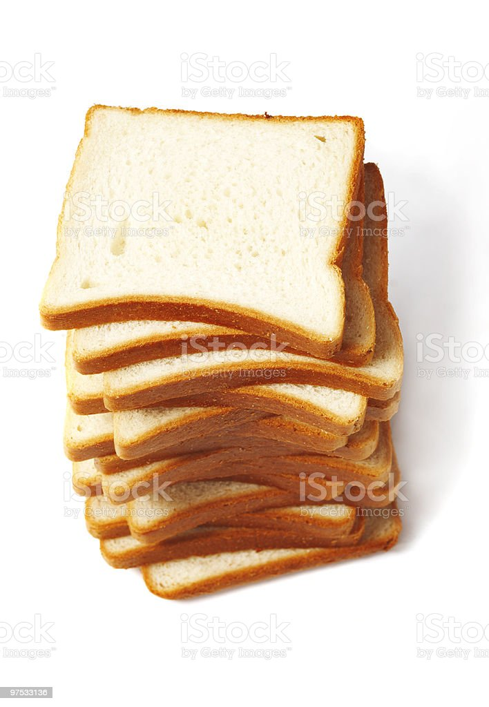 Bread for Toasts royalty-free stock photo