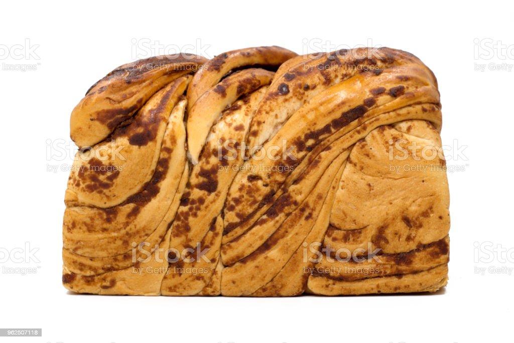 """Pão isolada no branco """" - Foto de stock de Alimentação Saudável royalty-free"""