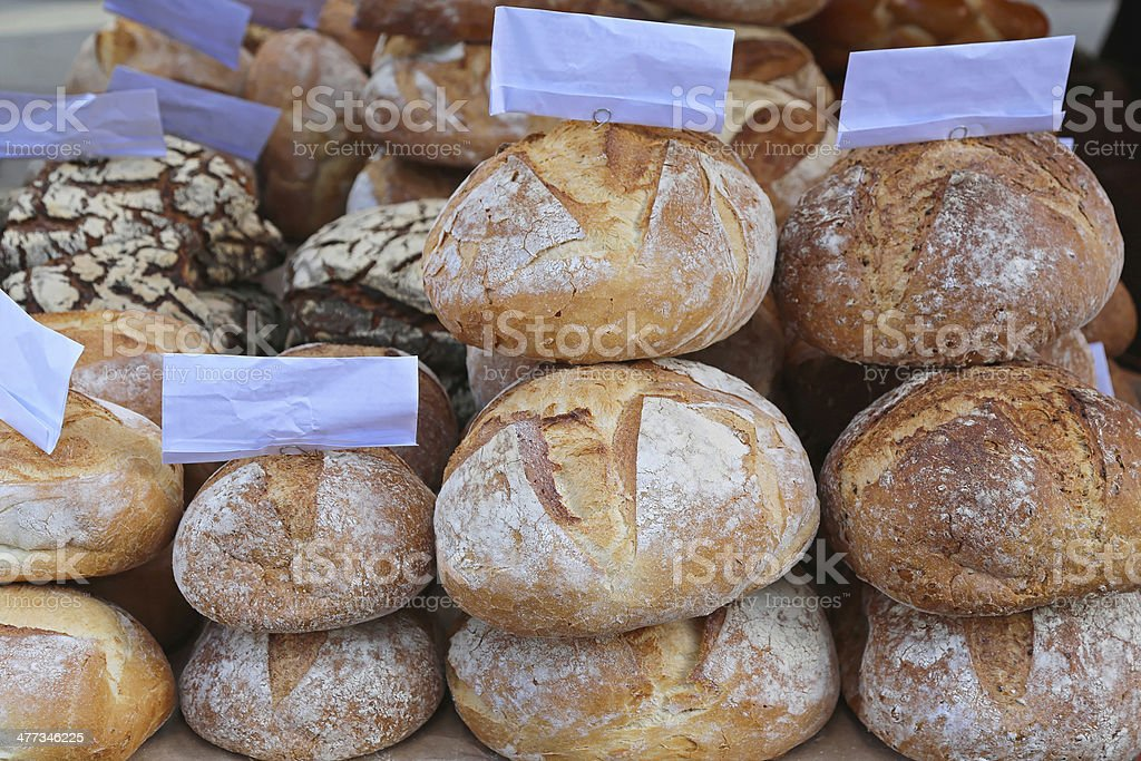 Bread loaf royalty-free stock photo