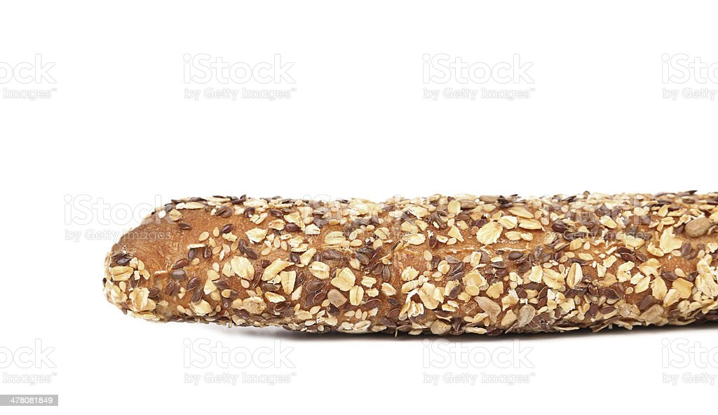 Bread made from whole grain. royalty-free stock photo