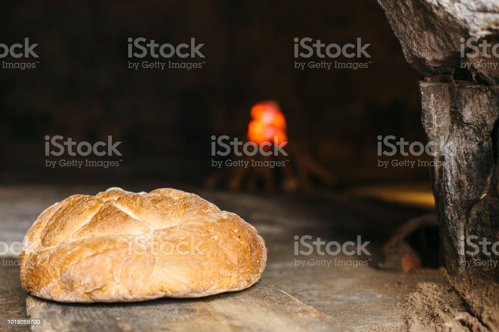 Bread made in a wood fired oven - Royalty-free Ancient Stock Photo