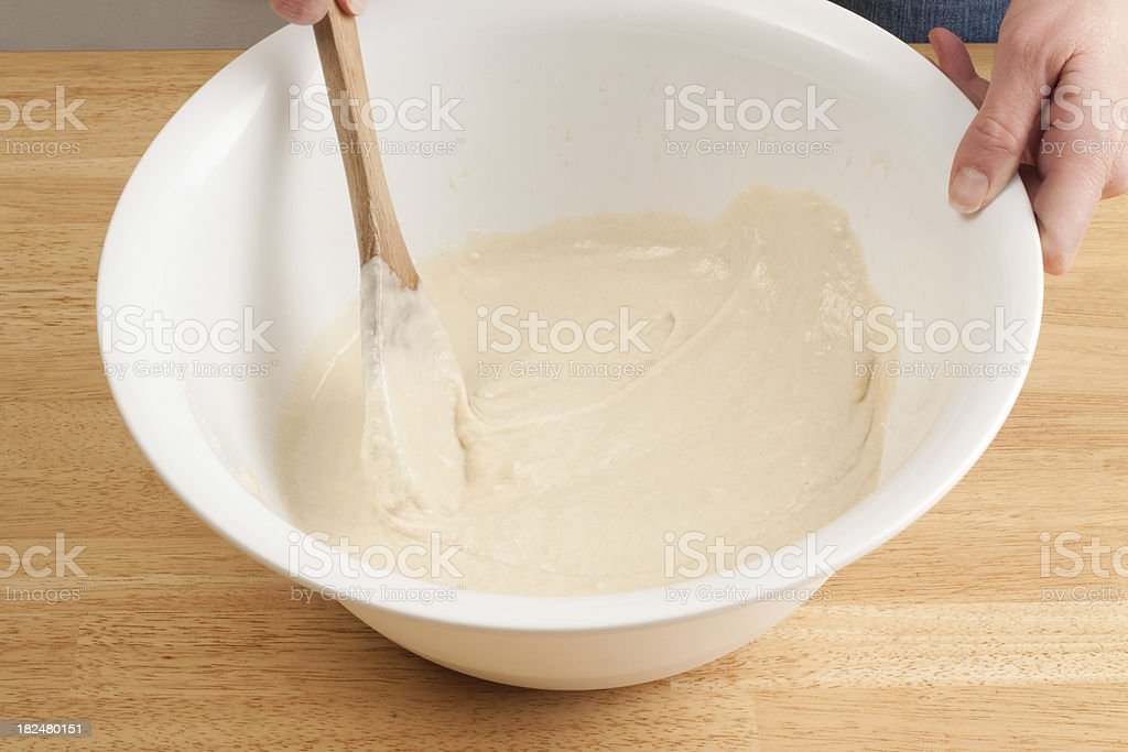 Bread Making Series royalty-free stock photo