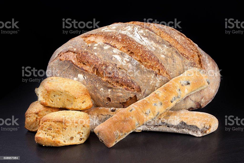 Bread Mix stock photo