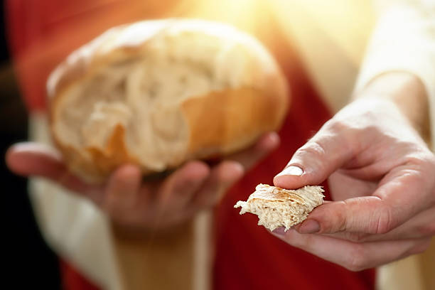 bread of life - communion stock pictures, royalty-free photos & images
