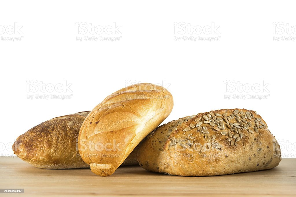 Bread on table royalty-free stock photo