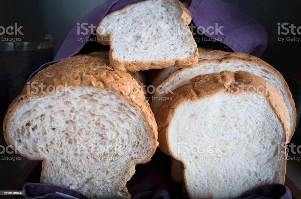 Bread on the desk 免版稅 stock photo