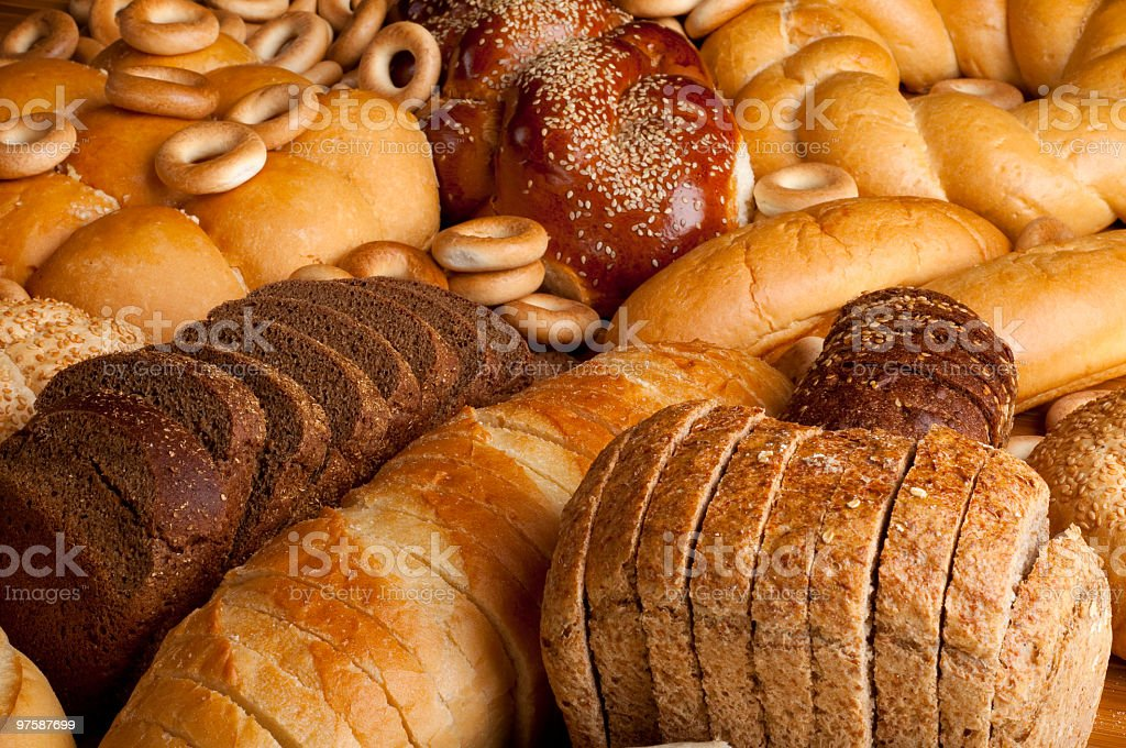 bread royaltyfri bildbanksbilder