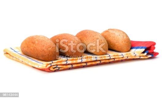 Pane - Fotografie stock e altre immagini di Asciugamano