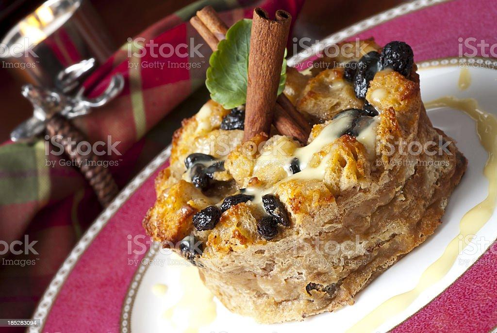 Bread Pudding stock photo