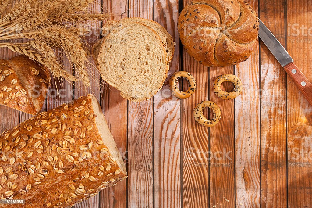 Bread series royalty-free stock photo